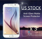 US Stock 3Pcs Matte Screen Protector Guard Plastic Film For Samsung LG HTC