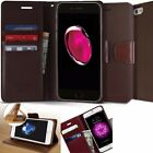Genuine Goospery Slim Leather wallet Flip Case Cover for iPhone 7 /Galaxy S8/ LG