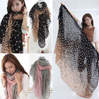 Elegant Women Scarf Candy Colors Beauty Dot Decorated Wraps Shawl Scarfs New