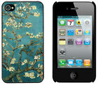 Vincent Van Gogh Blossoming Almond Tree High Quality Cover Case For iPhone 4/4S