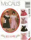 McCalls 6336 Girls Party Holiday Dress Petticoat Bag Sewing Pattern