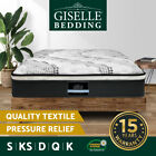 Giselle Bedding Mattress QUEEN DOUBLE KING SINGLE Size Bed Pocket Spring Foam 32