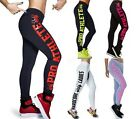 B223 New Fashion Skeleton Letters Printed Ankle-length Pants Sport Leggings
