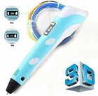 3D Drawing Pen With LCD Screen Printing Pen for Doodling, Art & Craft Making