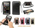 New Full Screen Handbag Crossbody Shoulder Cell Phone Pouch Holster With Lanyard