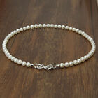 2017 New AAA 7-8mm Cultured Freshwater Round White Real Pearl Nekclace