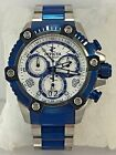 Men's Invicta 11181 Arsenal Two Tone Stainless Steel White Chronograph DialWatch