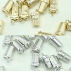 Coffee Metal Beads Pendants Gold Silver Beads for Jewelry Making Supplies #224