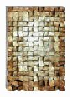 """Benzara 47"""" H Simple Unique Design Wood Wall Art with Exquisite Styling"""