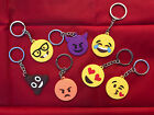 New Emoji Emoticon Keyrings Keychain Various Designs Ideal Valentines Day