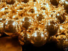 Japanese Light Plated Acrylic Pearl Finish Beads 6mm Strand or Package