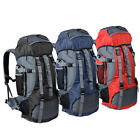 70L Outdoor Camping Travel Hiking Bag Internal Frame Backpack DayPack Luggage