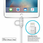 iLuv ICB267 2-in-1 SYNC/CHARGE Lightning Cable with Micro USB for Apple/Android.