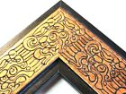 "2.3"" Mayan Bronze Solid Wood Canvas Picture Frame-Custom Made Square Sizes"