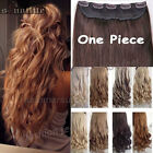 Real Natural Hair Full Head Clip In Ins Hair Extensions Synthetic as human Long