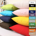 100% Cotton Canvas Cushion Cover Home Decor Throw Pillowcase PillowCover Square