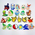 New Cartoon Pokemon PVC Shoe Charm for jibz & Wristband Shoe Accessories gifts