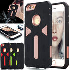 For Apple iPhone 6 /6S Plus Hybrid Shockproof Rubber Tough Armor Hard Cover Case