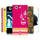 HEAD CASE DESIGNS MIX CHRISTMAS COLLECTION BACK CASE FOR SONY XPERIA Z3 COMPACT