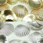 Shell shape Metal Beads Pendants Gold Silver for Jewelry Making Supplies #254