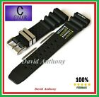 20MM - 22MM DIVERS WATCH STRAP ND. TIME, N. D. LIMITS,  POLYURETHANE / SILICONE