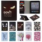 UK Stock PU Leather Mangnetic Smart Stand Case for iPad 2 3 4 Air Mini Pro 9.7