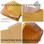 10 / 50 / 100 Kraft Bubble Padded Envelopes Mailers Self Seal Shipping bag 7 x 9