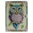 Painting Leather Smart Stand Case Cover for Samsung Galaxy Tab 9.7 T550 T555