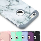 ULAK Slim Dual Layer Hard Shell Solid PC Shockproof Case for Apple iPhone Models