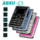 "GSM AEKU USB Music Low Radiation Mini Touch Keypad 0.96"" Card Size Phone Pocket"