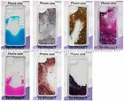 MOMENTUM Phone Case LIQUID WATERFALL For iPHONE 7 Glitter+Confetti *YOU CHOOSE*