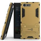 CoverON for Sony Xperia X Compact Case Hybrid Stand Armor Slim Phone Cover