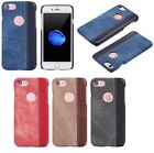 Luxury PU Leather+Demin Pattern Case Cover Skin For Apple iPhone 6/6s/7/7 Plus