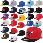 MITCHELL & NESS AND SNAPBACK CAP CHICAGO BULLS NETS KINGS  MAGIC HEAT UVM -A