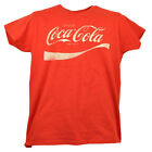 Enjoy Coca Cola Coke Pop Soda Drink Womens Tshirt Tee Red Short Sleeve Crew Neck