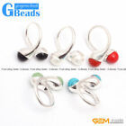 10mm Double Round Beads Tibetan Silver Ring Fashion Jewelry Free Shipping