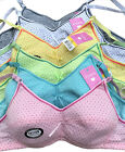 LOT Wire Free Polka Dot Girl Preteen Junior Cotton Training Bra 30A 32A 34A 36A