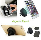 Universal Magnetic Car Air Vent Holder Stand Mount For Mobile Cell Phone GPS 1pc
