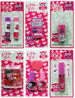 JUST FOR GIRLS LIP BALM/Gloss or NAIL POLISH SET Valentine Day *YOU CHOOSE* Owls
