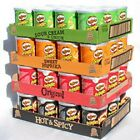 12 x Pringles Crisps Original Sour Cream BBQ 40g (full case) Price Marked
