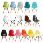 2 x Inspired Eiffel Retro DSW plastic Dining office /Dining Chair