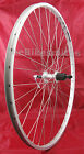700c Silver Alex DM18 Doublewall QR Hybrid Bike Wheel Front or Rear Cassett type