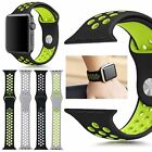 Replacement Silicone Sport Band Bracelets Strap For iwatch Apple Watch 38mm 42mm