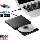 Slim External USB 3.0 DVD RW CD Writer Drive Burner Reader Player For Laptop PC фото