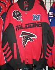 Atlanta Falcons Cotton Twill Team Jacket - Free Shipping - New