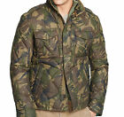 Polo Ralph Lauren Mens Camo Camouflage 730 Fill Down Feather Quilted Jacket Coat