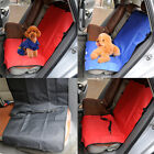 2 In 1 Car Rear Back Seat Cover Waterproof Dog Protector Boot Mat Liner 3 colors