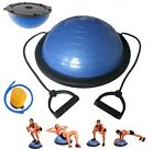 58 cm Balance Ball Trainer Yoga Fitness Strength Exercise with Pump NEW