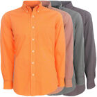 Antigua Republic Long-Sleeve Oxford Style Men's Striped Shirt, Brand NEW