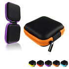 NEW Portable Mini Square Hard Storage Case Bag for Earphone Headphone SD TF Card